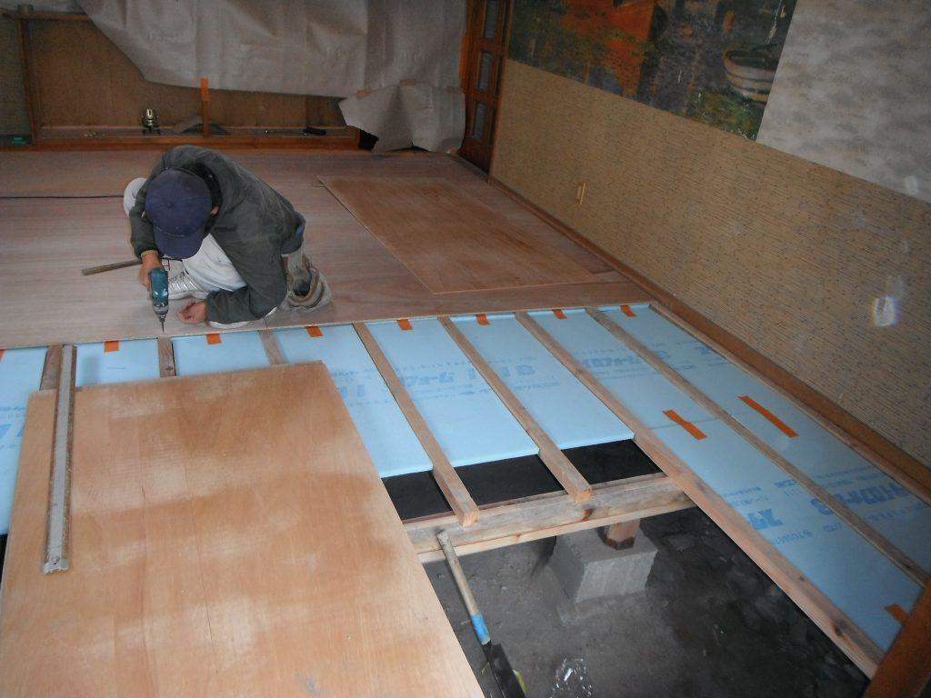 床張り替え工事