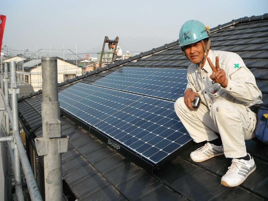 太陽光取り付け工事
