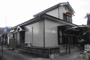 外装塗装工事:垂水市田神 M様邸