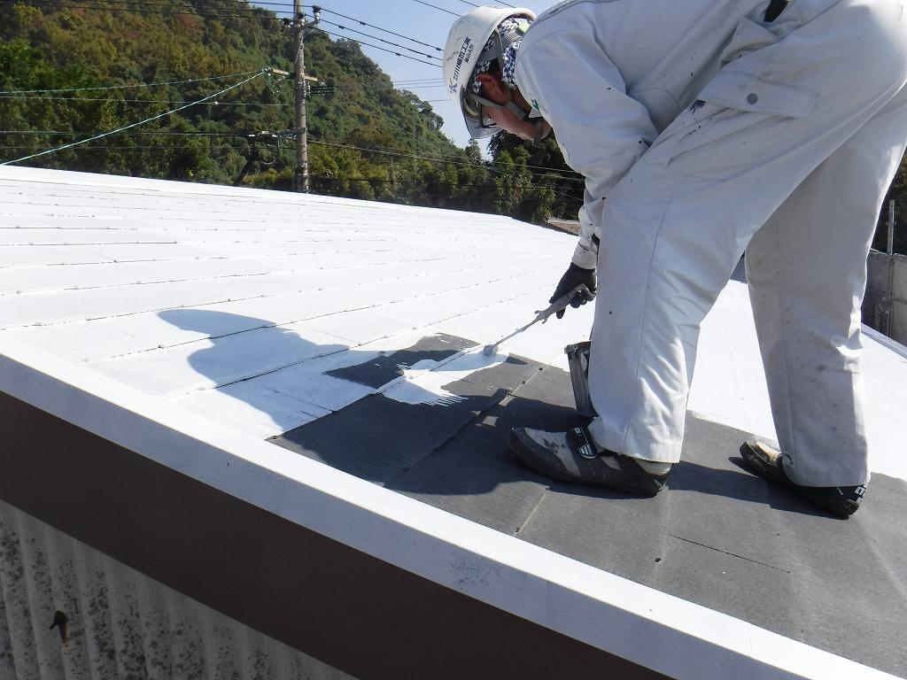 屋根塗装工事:垂水市田神 N様邸