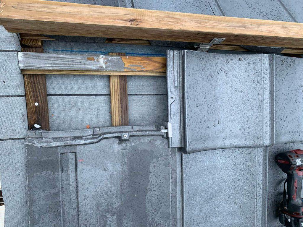 屋根葺き替え工事:鹿児島市古里町 Y様邸