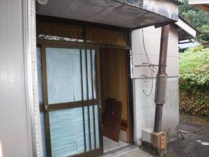 玄関ドア交換工事:鹿児島市桜島白浜町 T様邸
