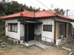 玄関屋根修理工事:垂水市田神 K様邸