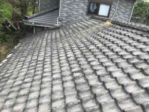 屋根葺き替え工事:垂水市中俣 K様邸