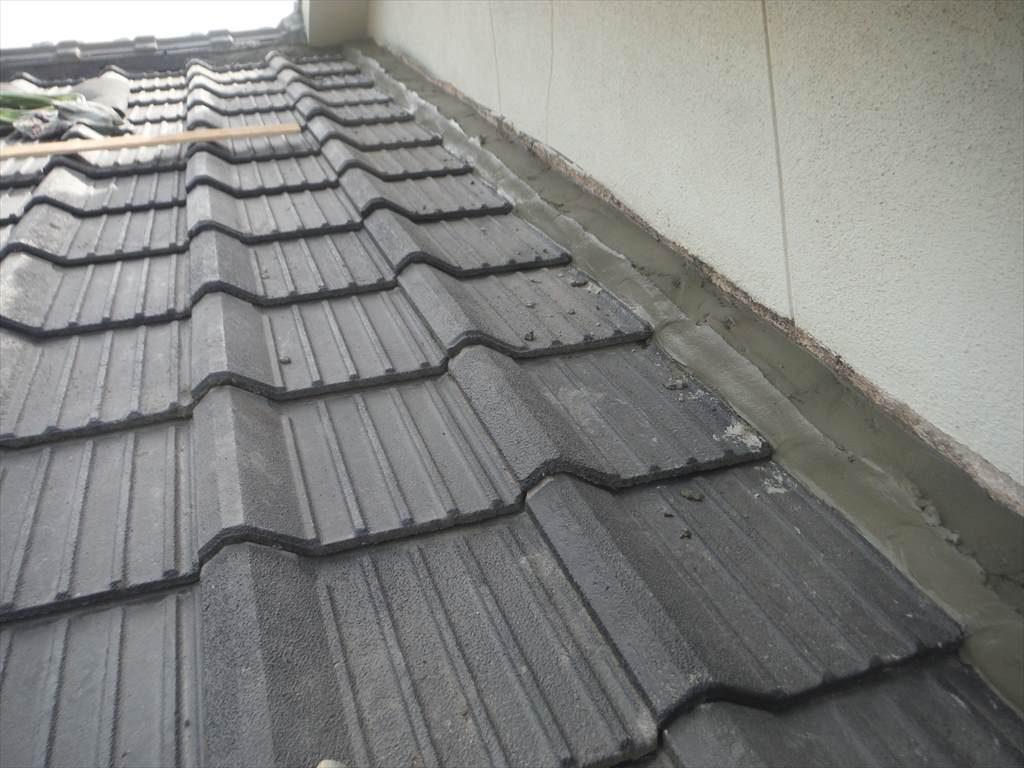 屋根一部締め直し工事:垂水市新城 S様邸