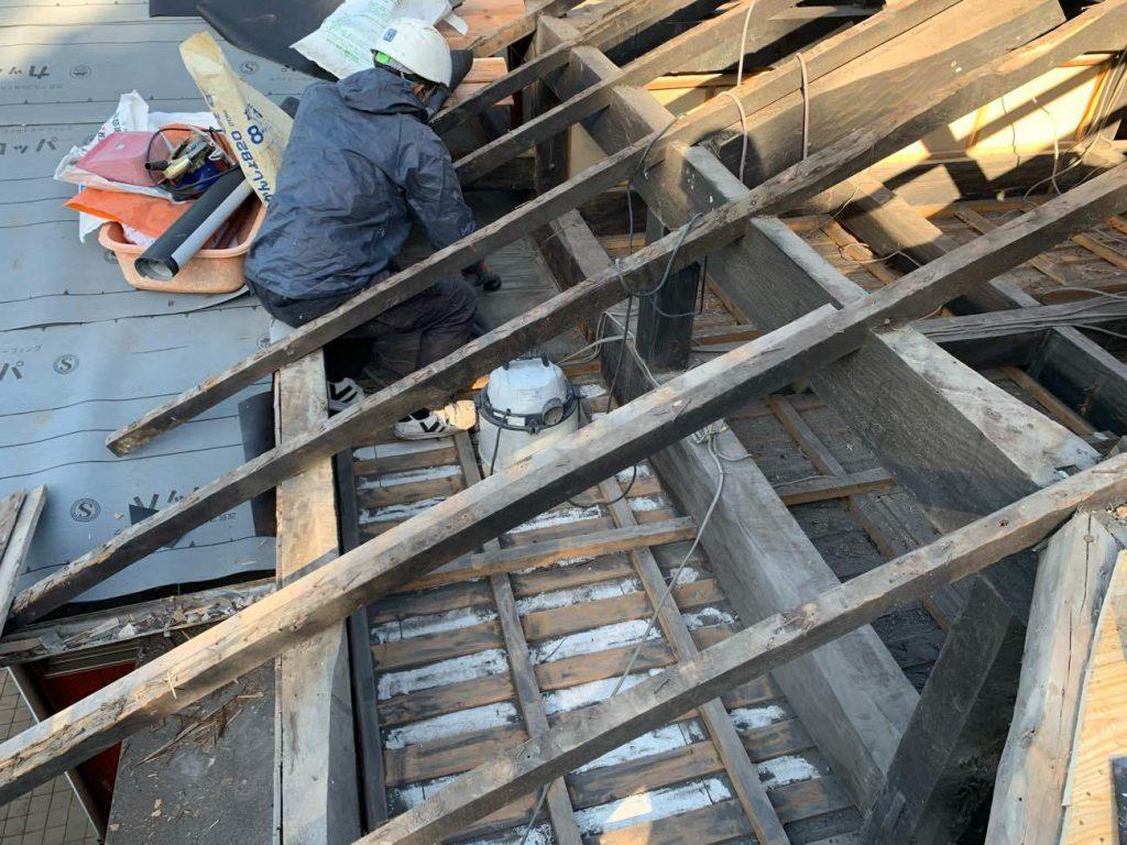 屋根葺き替え工事:鹿屋市王子町 O様邸