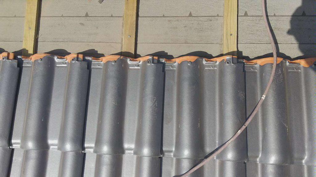 屋根葺き替え工事:垂水市海潟 K様邸