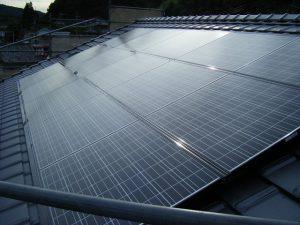 京セラ太陽光パネル設置