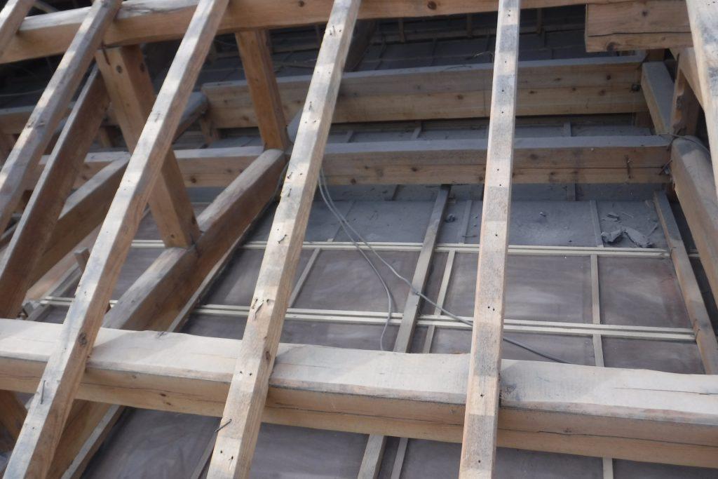 屋根葺き替え工事:垂水市二川 N様邸