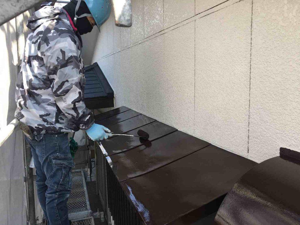 外壁塗装工事:垂水市海潟 S様邸