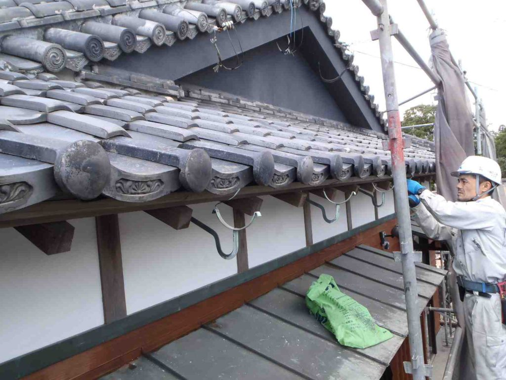 雨樋取替え工事:鹿屋市田崎町 T様邸