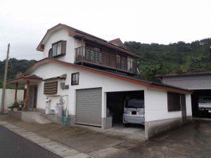 屋根葺き替え工事:垂水市海潟 S様邸