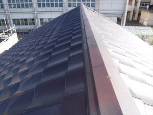 屋根葺き替え工事:鹿屋市西原 O様邸