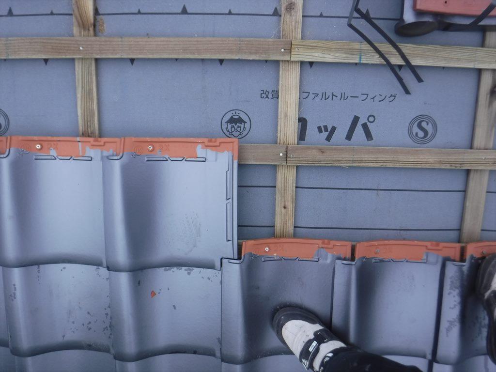 屋根葺き替え工事:垂水市柊原 M様邸