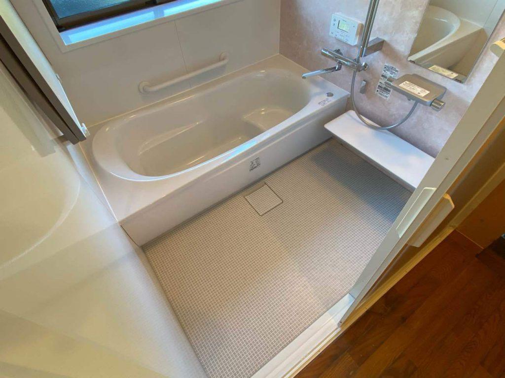 浴室リフォーム工事:垂水市田神 I様邸